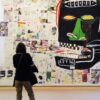Walls Covered in Basquiat